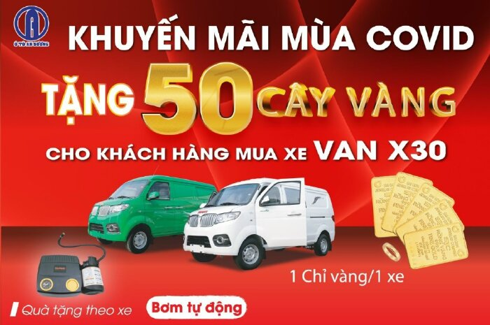 Lưu thông nội ô 24/24 với VAN SRM X30 V2L 930kg.