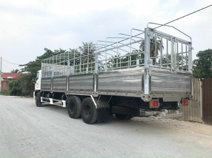 Hino Fl8jw7a Thùng Mui Bạt (xe Nền Có Sẵn)