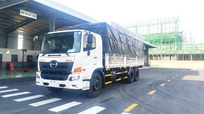 Hino FL8JW7A Thùng mui bạt tiêu chuẩn Mới 100% (XE NỀN CÓ SẴN) Chất lượng Nhật