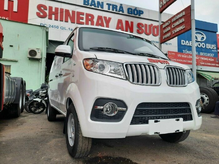 Bán xe tải Van SRM chạy thành phố 24h - xe có sẵn giao ngay - chỉ 70 triệu nhận xe ngay