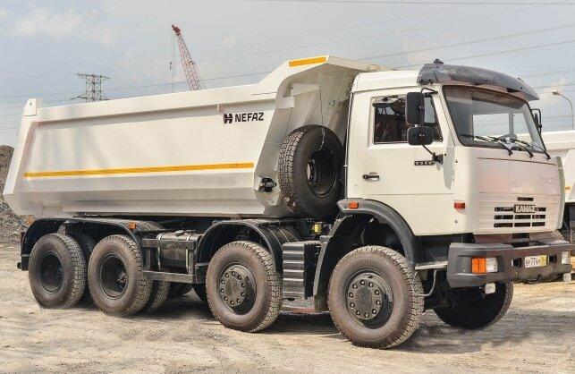 Kamaz 6540 Nhập khẩu mới 100%