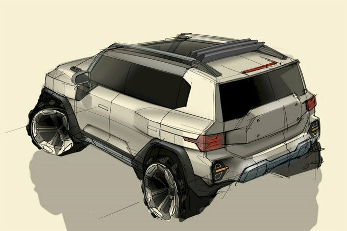 SsangYong lộ bản vẽ thiết kế SUV mới - cảm hứng từ Jeep - 1