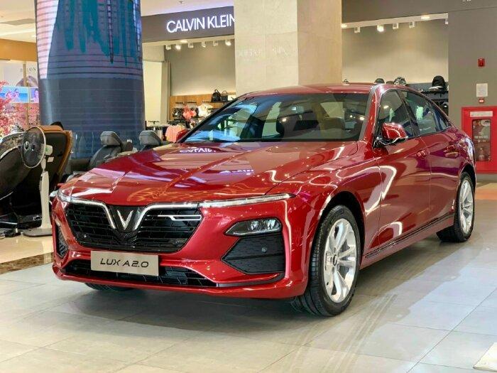 VinFast Lux A 2021 Đủ Màu Thuế Trước Bạ 0 Đồng, Lãi Xuất 0 Đồng