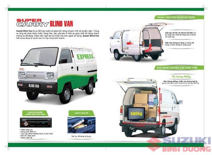 Bán Suzuki xe tải nhỏ thành thị đi giờ cấm