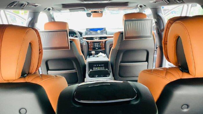Bán Lexus LX570 MBS 4 chỗ màu Trắng, sản xuất 2021, xe giao ngay.